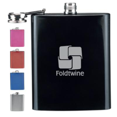 Image of Stainless Steel Hip Flask