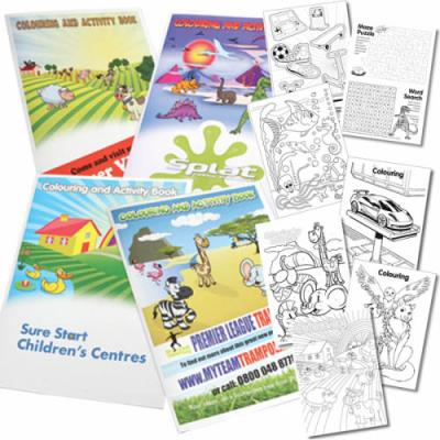 Image of A4 Colouring Booklets