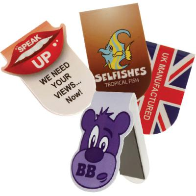 Image of Mini Shaped Folding Magnetic Page Markers